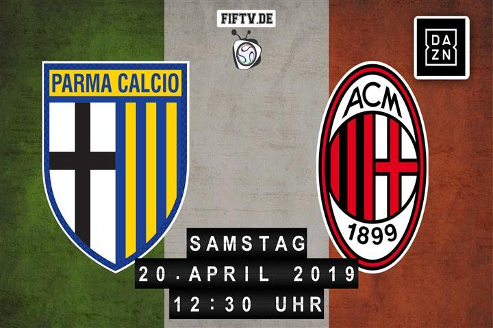 Parma Calcio - AC Mailand Spielankündigung