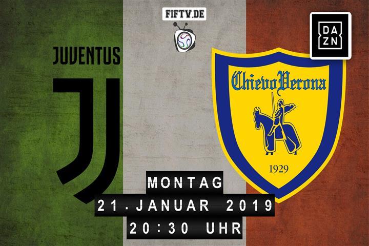 Juventus - Chievo Verona Spielankündigung