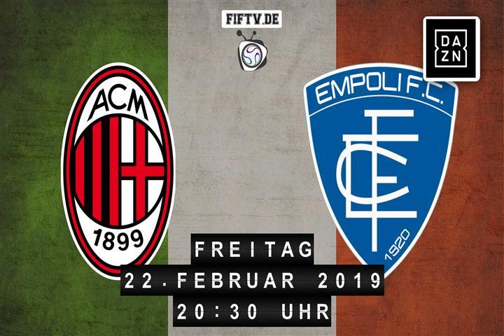 AC Mailand - Empoli FC Spielankündigung
