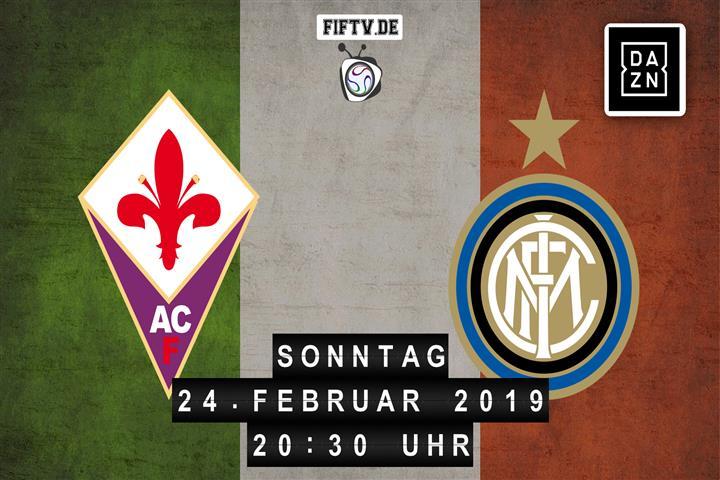 AC Florenz - Inter Mailand Spielankündigung
