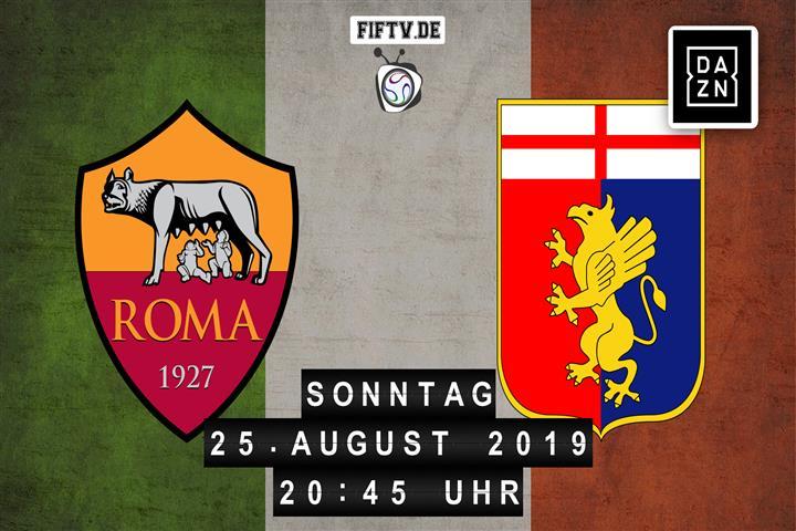 AS Rom - Genua CFC Spielankündigung