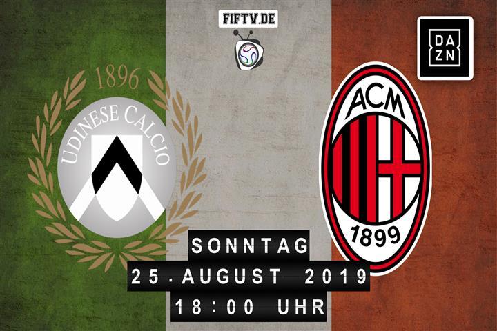 Udinese Calcio - AC Mailand Spielankündigung