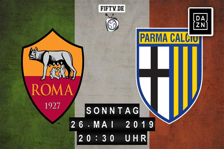 AS Rom - Parma Calcio Spielankündigung