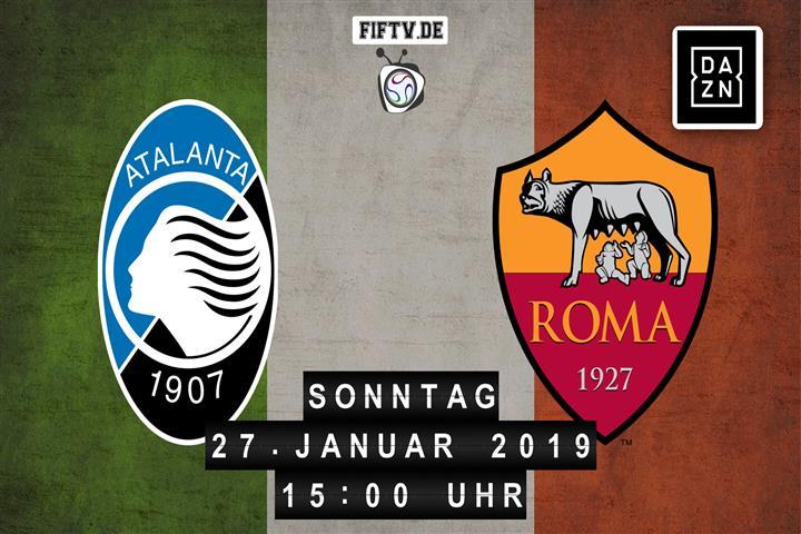 Atalanta Bergamo - AS Rom Spielankündigung