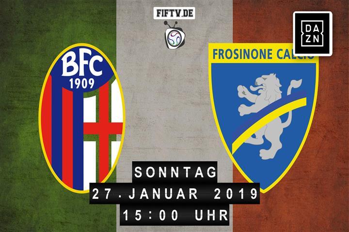 Bologna FC - Frosinone Calcio Spielankündigung