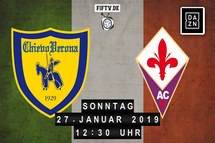 Chievo Verona - Florenz Spielankündigung