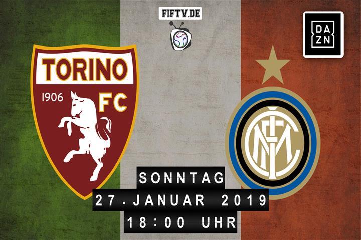 FC Turin - Inter Mailand Spielankündigung