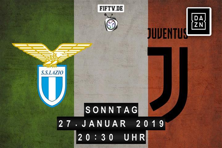 Lazio Rom - Juventus Turin Spielankündigung