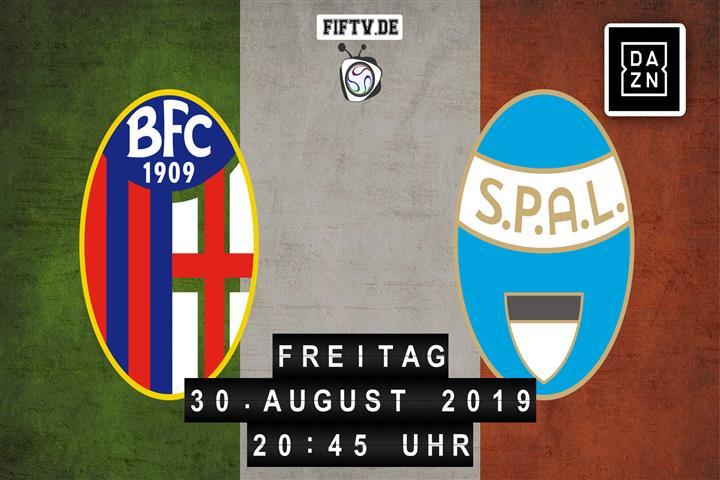 Bologna - SPAL Spielankündigung