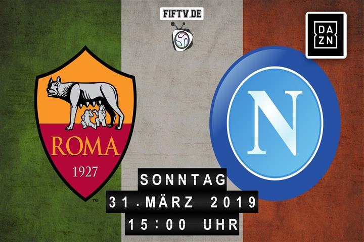 AS Rom - SSC Neapel Spielankündigung