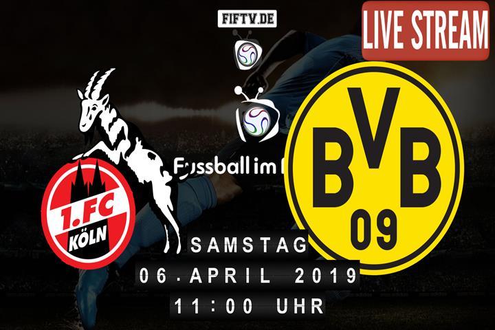 1.FC Köln - Borussia Dortmund Spielankündigung