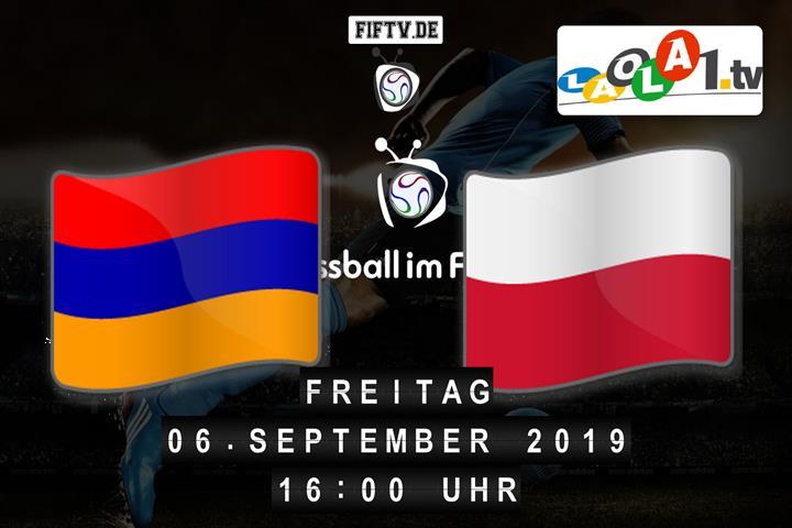 U19: Armenien - Polen Spielankündigung