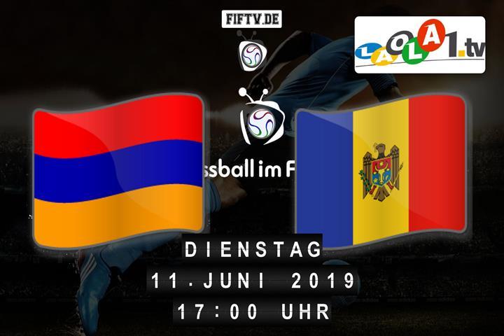 U21: Armenien - Moldawien Spielankündigung