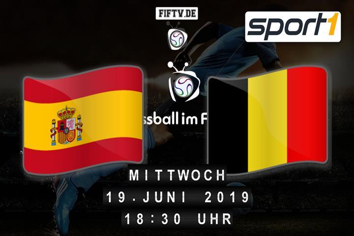U21: Spanien - Belgien Spielankündigung