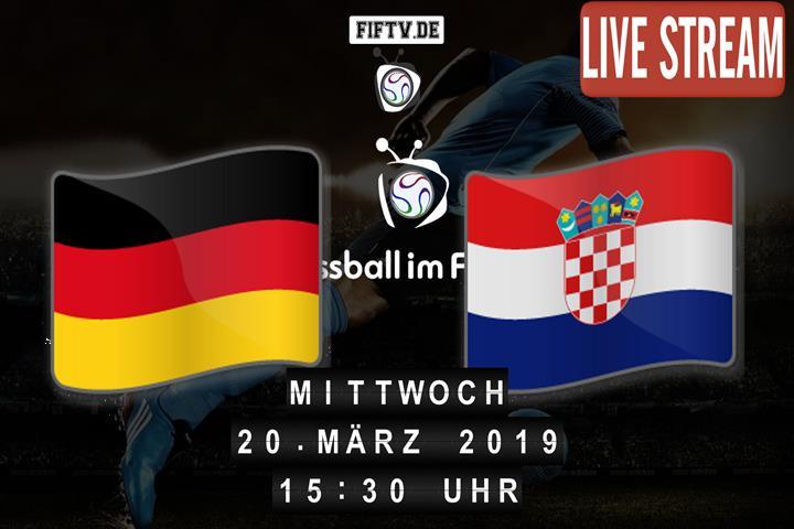 U-19: Deutschland - Kroatien Spielankündigung