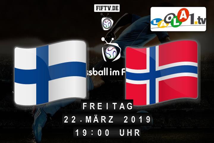 U21: Finnland - Norwegen Spielankündigung