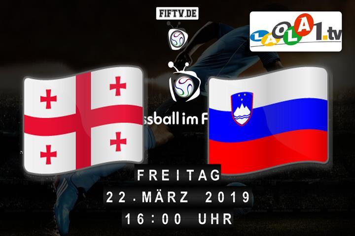 U21: Georgien - Slowenien Spielankündigung