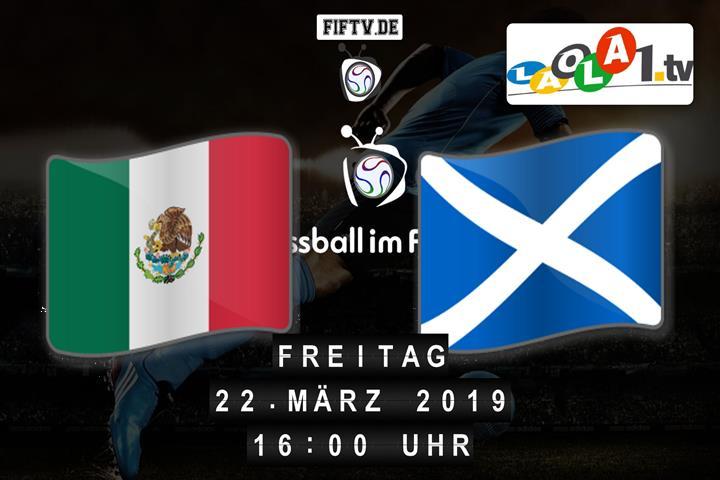 U21: Mexico - Schottland Spielankündigung