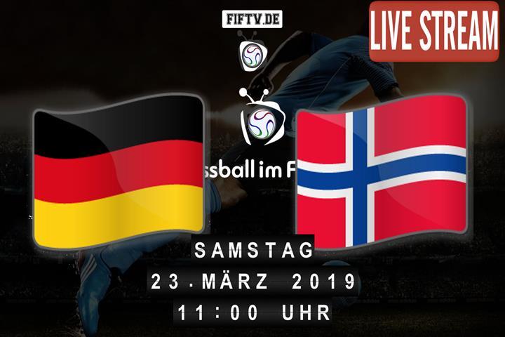 U-19: Deutschland - Norwegen Spielankündigung