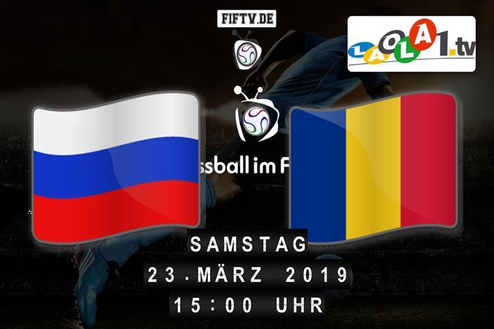 U19: Russland - Rumänien Spielankündigung
