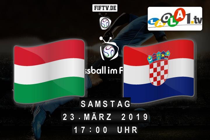 U19: Ungarn - Kroatien Spielankündigung