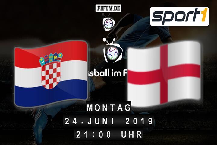 U21: Kroatien - England Spielankündigung