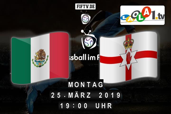 U21: Mexico - Nordirland Spielankündigung