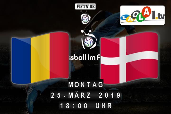 U21: Rumänien - Dänemark Spielankündigung