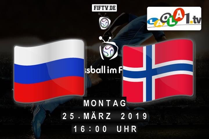 U21: Russland - Norwegen Spielankündigung