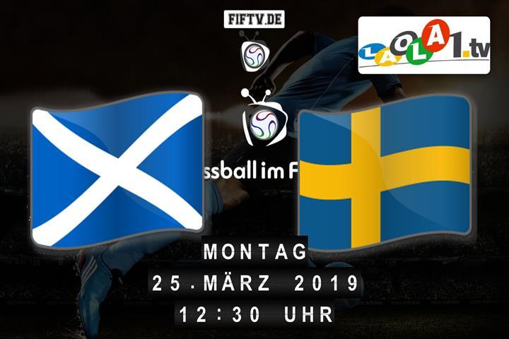 U21: Schottland - Schweden Spielankündigung