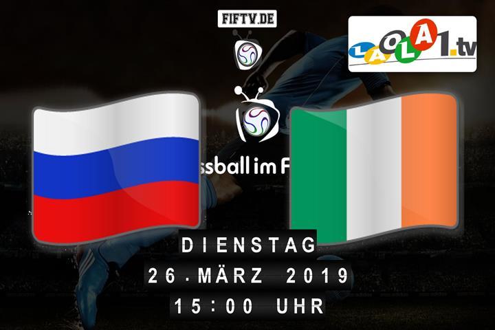U19: Russland - Irland Spielankündigung