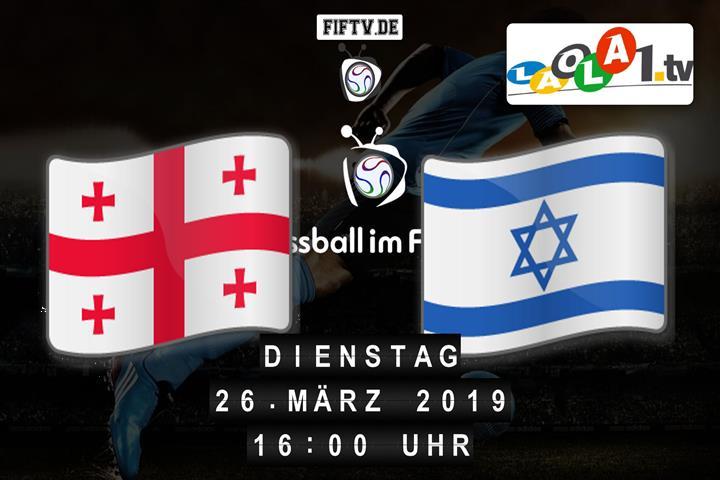 U21: Georgien - Israel Spielankündigung