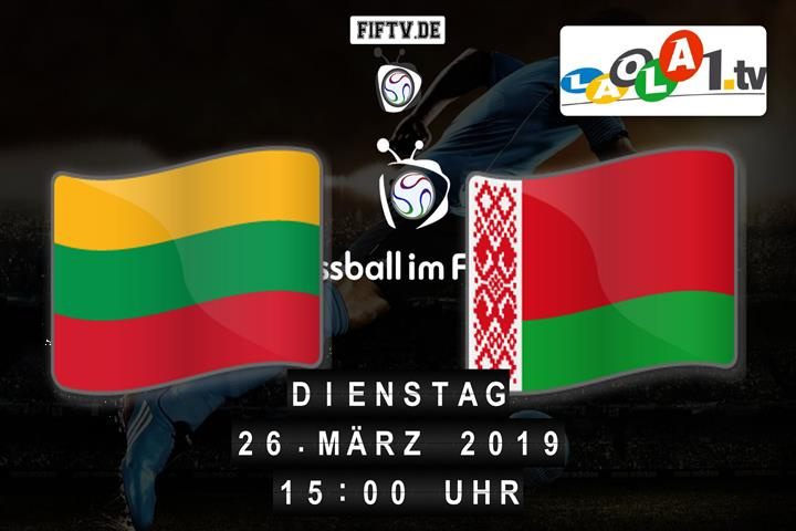 U21: Litauen - Weißrussland Spielankündigung