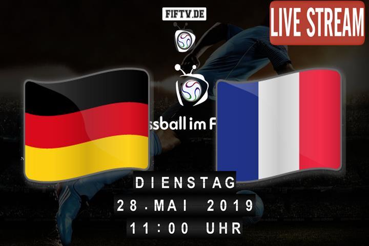 U16: Deutschland - Frankreich Spielankündigung