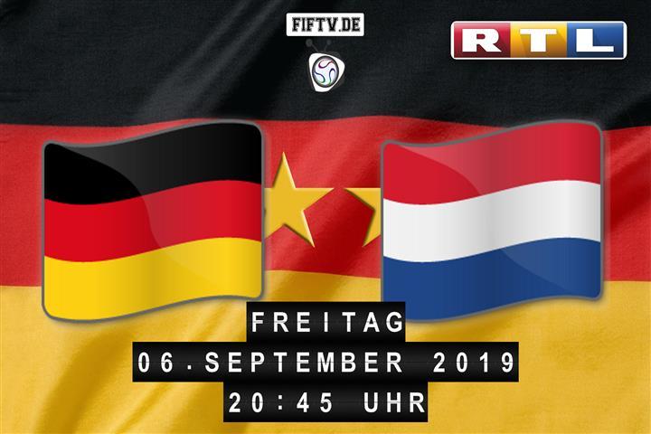 Deutschland - Niederlande Spielankündigung