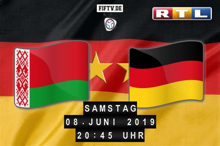 Weißrussland - Deutschland Spielankündigung