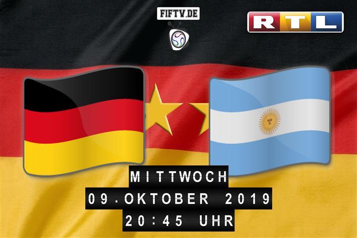 Deutschland - Argentinien Spielankündigung