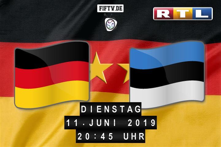 Deutschland - Estland Spielankündigung