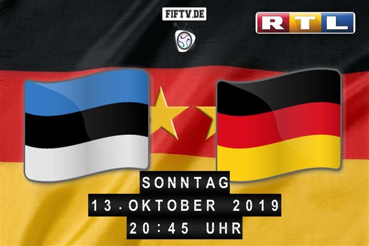 Estland - Deutschland Spielankündigung