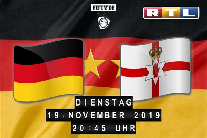 Deutschland - Nordirland Spielankündigung