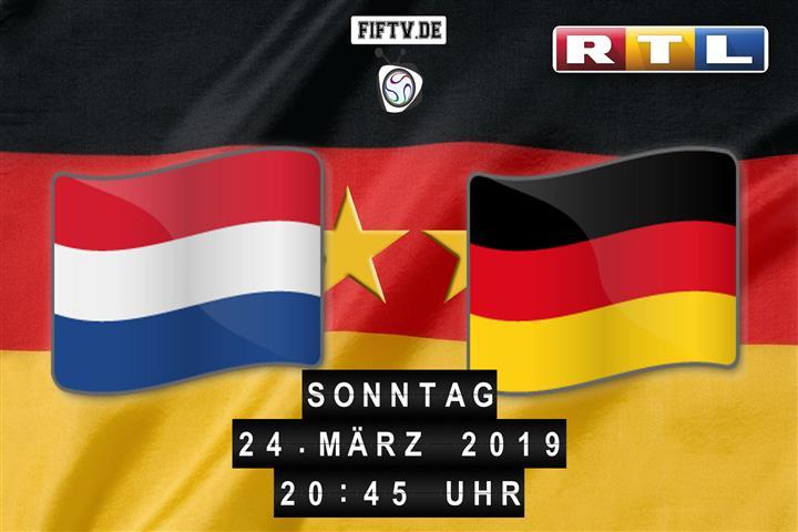 Niederlande - Deutschland Spielankündigung