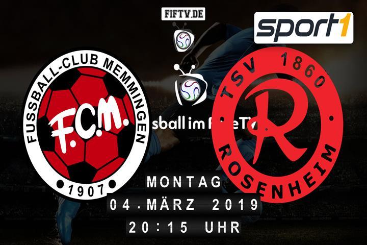 FC Memmingen - TSV 1860 Rosenheim Spielankündigung