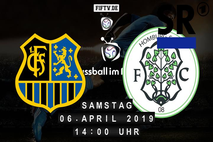 1.FC Saarbrücken - FC Homburg Spielankündigung
