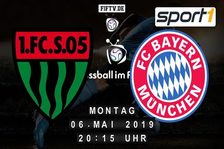 1.FC Schweinfurt 05 - Bayern München Spielankündigung