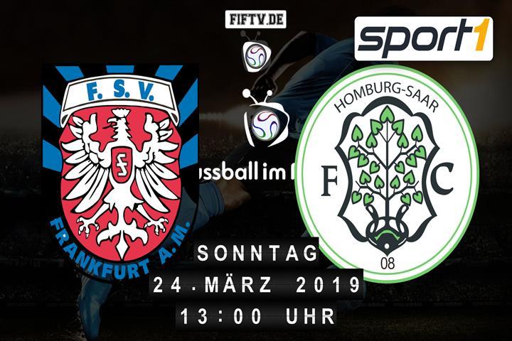 FSV Frankfurt - FC 08 Homburg Spielankündigung