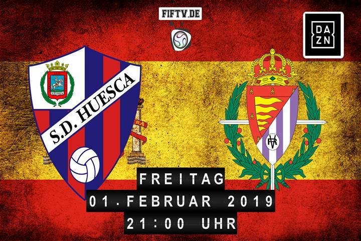 SD Huesca - Real Valladolid Spielankündigung