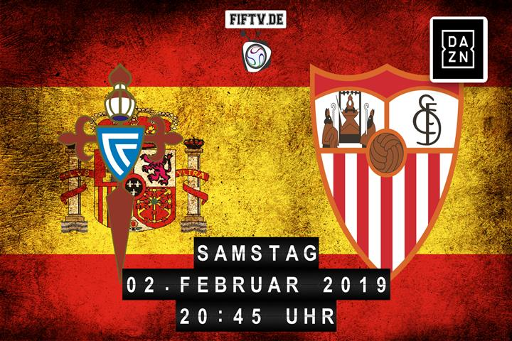 Celta Vigo - Sevilla FC Spielankündigung