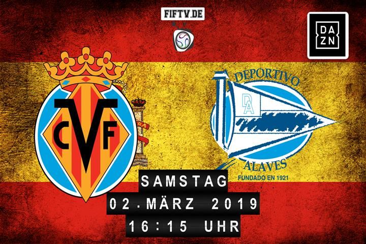 Villarreal FC - Deportivo Alaves Spielankündigung