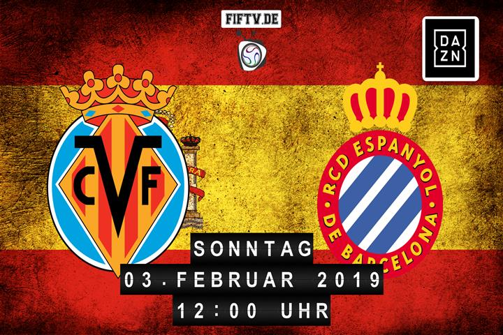 Villarreal FC - Espanyol Barcelona Spielankündigung