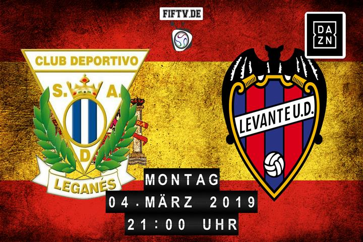 CD Leganes - Levante UD Spielankündigung